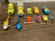 Disney Pixar Cars Set Of Cars Leak Less Frank Dinoco Helicoptor And More 11 Cars