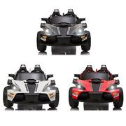 2 Seats Kids Car 12v Ride On Racer Cars Electric Cars W/ 2.4g Remote Control