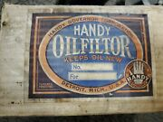 Vintage Handy Oil Filter Kit Handy Governor Corp 1935.