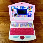 Very Rare Version Vintage Barbie B Book Laptop Computer Toy Fully Working Vgc