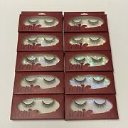 Ioni 3d Faux Mink Lashes Natural Lite Doll 10 Pack