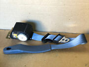 1992 Ford Mustang Seat Belt Lh Left Drivers Side Retractor Blue