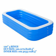 120 X 72 Thick Material For Kids Spas Pool Set Inflatable Above Ground Pool