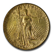 1910-s 20 Saint-gaudens Gold Double Eagle Xf - Sku14710
