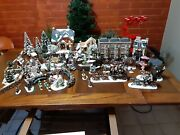 Gigantic Huge Dept. 56 - Heritage And Dickens Village Lot And Plus
