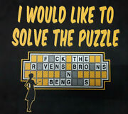 Pittsburgh Steelers-solve The Puzzle-t-shirt/nice