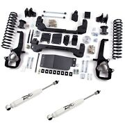 Zone Offroad D19 Suspension System W. 6 Lift And Hydraulic Shocks For 12 Ram 1500