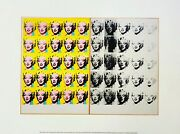 Andy Warhol Tate Modern Exhibition Print / Poster Marilyn Diptych Monroe