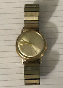 Bulova Accutron 10kt Gold Filled Patented Waterproof Antique Womenandrsquos Watch