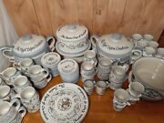 Louisville Stoneware Twelve Days Of Christmas Vintage Largest Collection