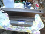 Antique 1800and039s Old Iron Railroad Track Blacksmith Anvil W/ Pritchel Hole