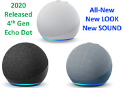 All New Echo Dot 4th Gen 2020 Release Smart Speaker + Alexa All Colors Available