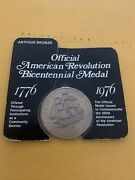 Rhode Island Bicentennial 1776-1976/cradle Of Our American Navy Medal