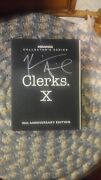 Clerks X Dvd, 2004, 3-disc Set, 10th Anniversary Edition Signed By Kevin Smith
