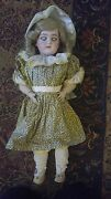 Antique Simon And Halbig N.1079-8 German Bisque Doll 21