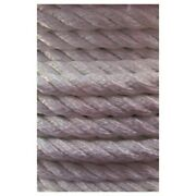 General Work Twisted Nylon Rope 3 Strand 1x300and039 Anchor-mooring-dock Boat Marine