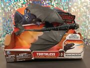How To Train Your Dragon Toothless Action Dragon W/ Fire Missile 2013 Rare