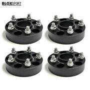 4pcs 35mm Aircraft Aluminum Wheel Spacer 5x108 For Ford Focus Fits 5 Lug