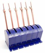 Dcc Concepts - Dcp-cbs6 Cobalt-s 6 Pack Point Switch Lever - Tracked 48 Post