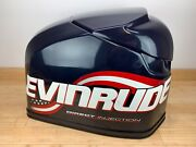 Brp Evinrude Ficht 250hp Top Engine Cowling Cover - Blue And Red - 200 225 250