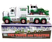 Hess Toy Truck Tractor 2013 Collectible Lights Flashers Sound Features New W Box