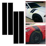 Universal Car Auto Hood Side Fender Stripes Decal Stickers Decor Car Accessories