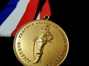Amateur Fencers League Of America Championship Medal 1970 Nationals Womens Team