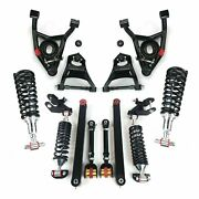 68-72 Gm A-body Sb Front Coilover Control-arm Kit W/ Rear Trailing And 230lb Shock