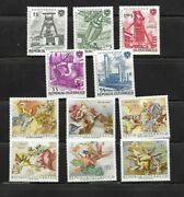 Austria 1964-1971 Mnh Lot / Collection Of 11 Sets - Hockey Angels Olympics