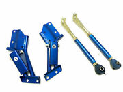 Obx Racing Sports Blue Tension Rod Set For 85-87 Corolla Gts Ae86 4cyl 1.6l