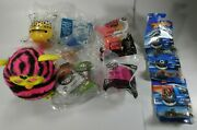 Toy Lot, 2012 Furby Black And Pink, Hot Wheels And Happy Meal Toys