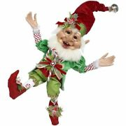 Mark Roberts 2020 Collection Candycane Elf Figurine Medium 17.5and039and039