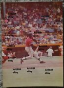 1974 Cleveland Indians Rico Carty 4 X 6 Photo Ron Mrowiec Old Comiskey Park