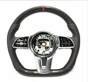 Mb W222 W463a G63 S-class Steering Wheel Leather Carbon Red Stripe