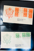 Us Rare Electric Eye President Series First Day Stamp Cover Collection