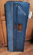 1970and039s Cadillac Dark Blue Lower Door Trim Pad Panel -passenger Side- Excellent