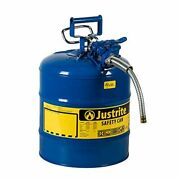 5gal Gas Can Container Five Gallon Metal Fuel For Storage Large Big Sturdy Best