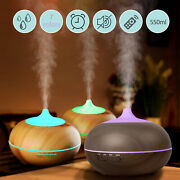 Ultrasonic Humidifier Essential Oil Diffuser Aromatherapy Led Aroma With Remote