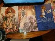 232 Dawn Series Of 1-3 1995 3 Books In A Bag And Card