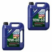 New Engine Oil 10 Liters Liqui Moly 10w-60 Fully Synthetic Racetech Motor Oil