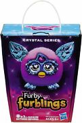 Hasbro Furby Furblings Crystal Series Pink With Blue Ears New Old Stock Boom App