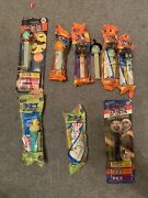 Vintage Pez Dispensers Easter And Halloween Set Of 9 8 Unopened And Brand New