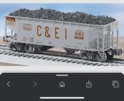 Lionel 6-27000 Andbull C And Ei Offset Hopper 9739 Add On Car Sequentially Addition