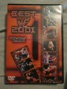 Best Of The Wwf 2001 Viewers' Choice Dvd, 2002extremely Rare Region 1 Koch