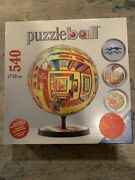Ravensburger Outer Space 3d Puzzle Puzzleball W/display Stand 270 Pcs. Sealed