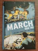 March Book Two 2 Hardcover Hc Gn Signed By John Lewis Top Shelf 1st Print /500
