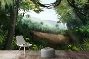 3d Forest Tree G1923 Wallpaper Mural Self-adhesive Removable Sticker Joy