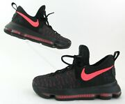 Nike Kd9 Prm Kevin Durant Andlsquoaunt Pearlandrsquo Basketball Shoes Black/hot Punch 3.5y