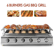 Smokeless Infrared Bbq Grill Stainless Steel Roast Stove Outdoor Barbecue Cookin