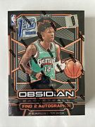 2019andndash20 Panini Obsidian Basketball Fotl Sealed Box First Off The Line